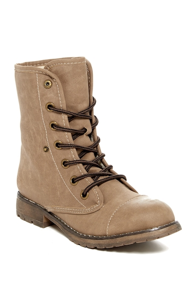 Incaltaminte Femei Dirty Laundry Raeven Faux Shearling Lined Boot TAUPE