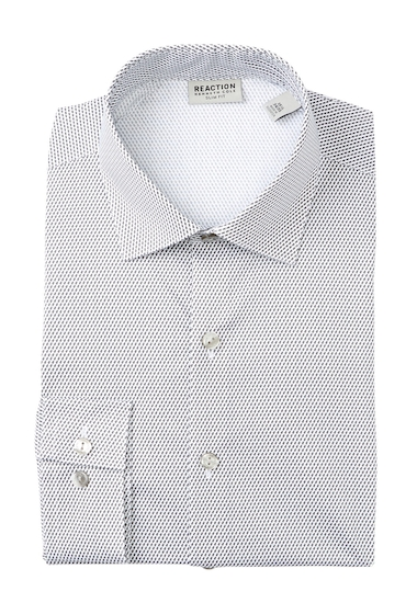 Imbracaminte Barbati Kenneth Cole Reaction Seagull Print Slim Fit Dress Shirt SEAGULL