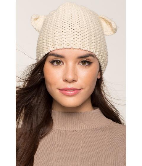 Accesorii Femei CheapChic Cat Ear Knit Beanie TaupeKhaki