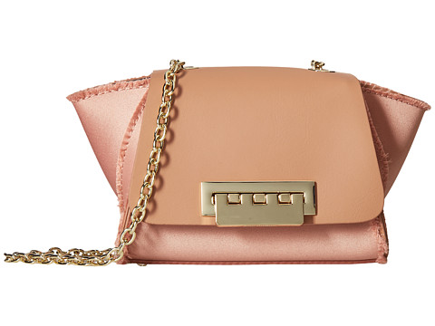 Genti Femei ZAC Zac Posen Eartha Iconic Satin Mini Chain Crossbody Prosecco