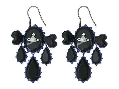 Bijuterii Femei Cole Haan Violet Earrings Black MarbleBlack