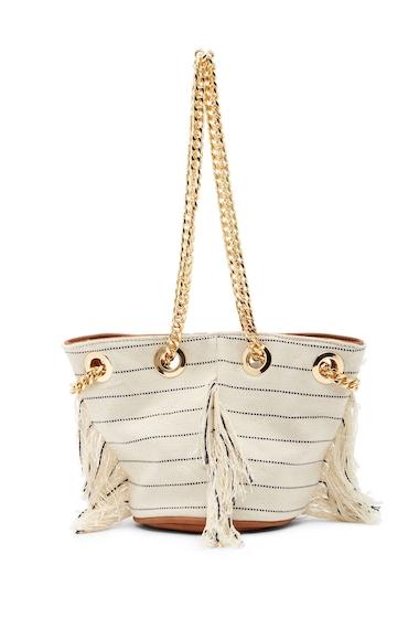 Genti Femei Deux Lux Calistoga Mini Bag IVORY