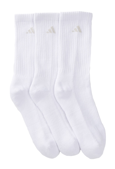 Accesorii Femei adidas Cushion Variegated Crew Socks - Pack of 3 Women WHITE