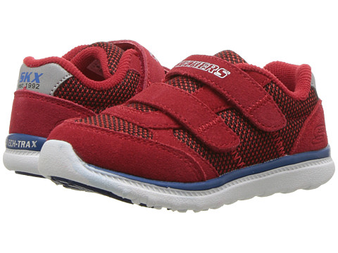 Incaltaminte Baieti SKECHERS Skech Trax-Retro Shift (ToddlerLittle Kid) RedBlack