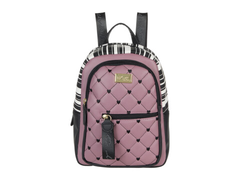Genti Femei Luv Betsey Nova Mini PVC Backpack Mauve image0