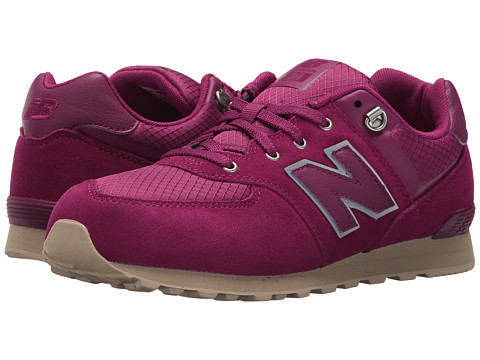 Incaltaminte Fete New Balance KL574V1G (Big Kid) PurpleTan