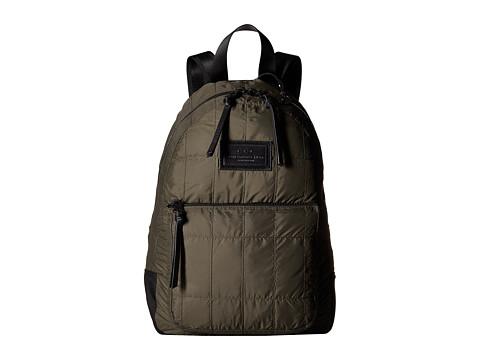Genti Barbati John Varvatos Quilted Nylon Backpack Army Green