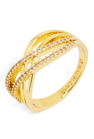 Bijuterii Femei BAUBLEBAR Luda Ring - Size 7 GOLD