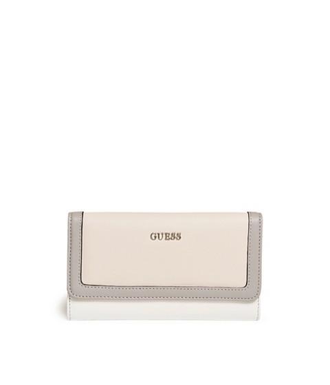 Accesorii Femei GUESS Take A Dive Color-Block Slim Wallet blush multi