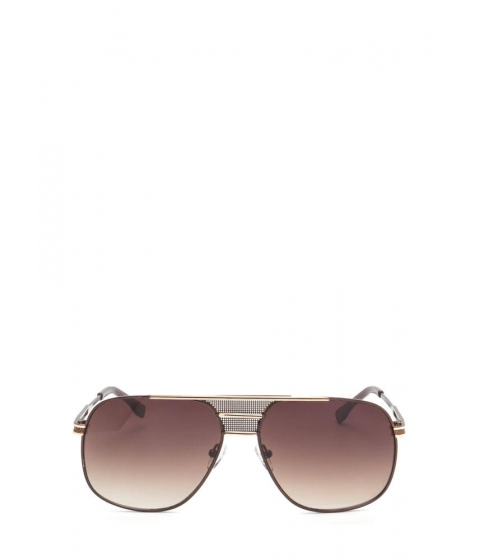 Accesorii Femei CheapChic Look The Part Aviator Sunglasses Browngold