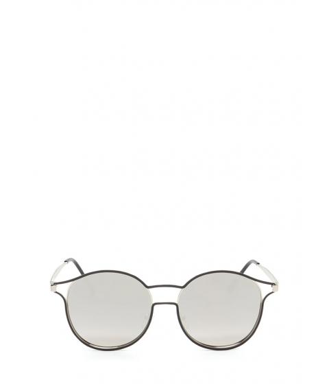Accesorii Femei CheapChic Make The Cut-out Round Sunglasses Silverblack