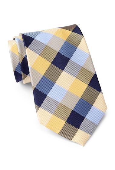 Accesorii Barbati Tommy Hilfiger Silk Buffalo Tartan XL Tie YELLOW
