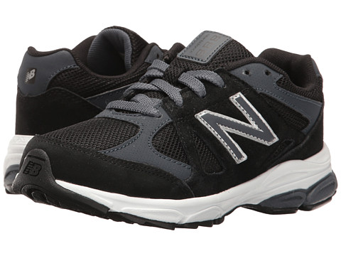 Incaltaminte Baieti New Balance Kids KJ888v1 (Little Kid) BlackGrey