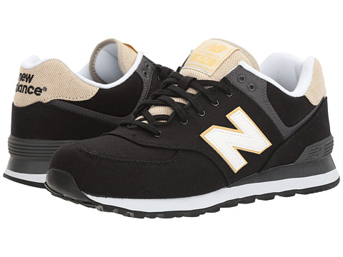 Incaltaminte Barbati New Balance ML574 - Retro Surf BlackWhite