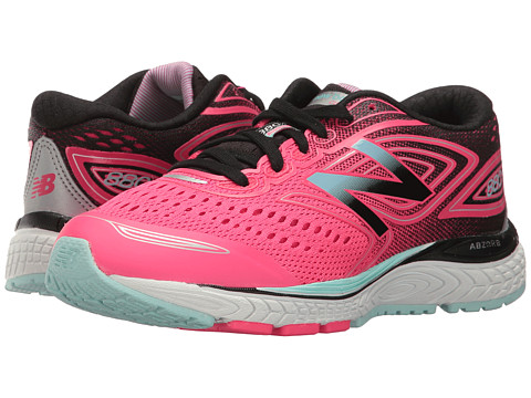 Incaltaminte Fete New Balance Kids KJ880V7 (Little KidBig Kid) PinkBlack