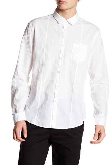 Imbracaminte Barbati John Varvatos Collection Slim Fit Dress Shirt WHITE