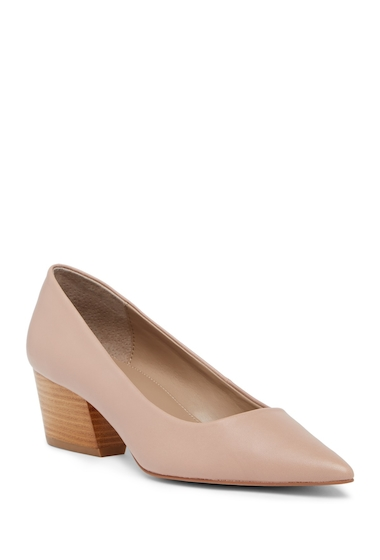 Incaltaminte Femei Donald Pliner Anni Pointed Toe Leather Pump BLUSH