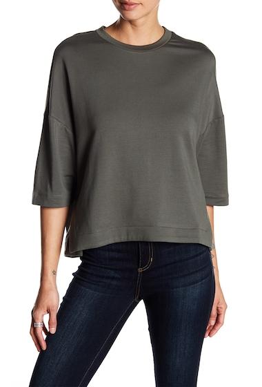 Imbracaminte Femei H By Bordeaux Fleece Boxy Sweatshirt OLIVE