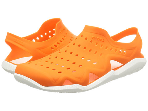 Incaltaminte Barbati Crocs Swiftwater Wave OrangeWhite