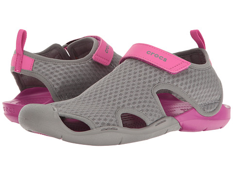 Incaltaminte Femei Crocs Swiftwater Mesh Sandal Smoke