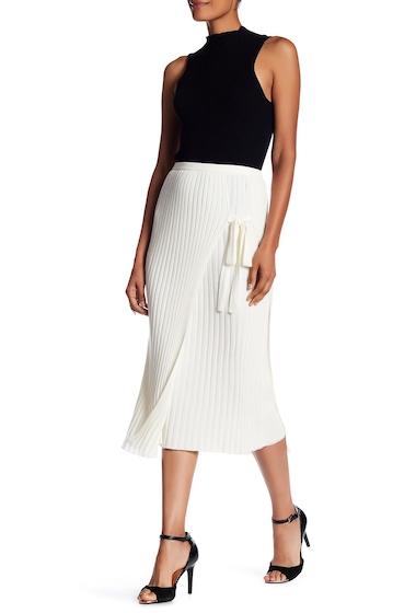 Imbracaminte Femei Helmut Lang Layered Wool Skirt WHITE