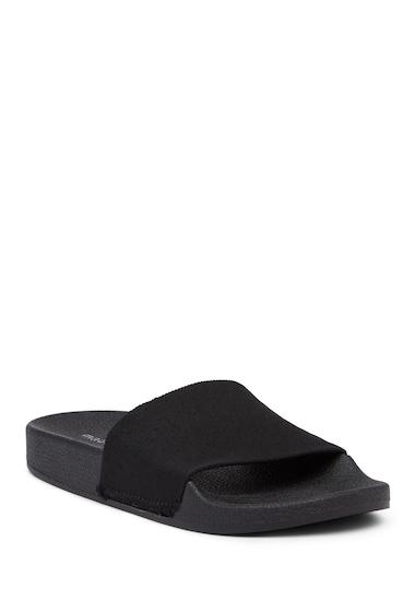 Incaltaminte Femei Madden Girl Zeke Slide Sandal BLACK
