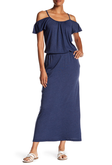 Imbracaminte Femei Soft Joie Jassina Cold Shoulder Maxi Dress DARK NAVY