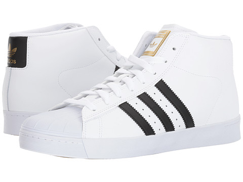 Incaltaminte Barbati adidas Pro Model Vulc Footwear WhiteCore BlackGold Metallic