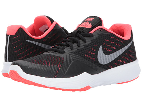 Incaltaminte Femei Nike City Trainer BlackMetallic Cool GreySolar Red