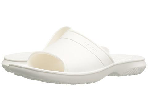 Incaltaminte Femei Crocs Classic Slide White