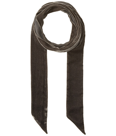 Accesorii Femei Echo Design Bias Point Velvet Thinny Oblong Scarf Magnet