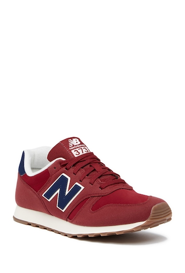 Incaltaminte Barbati New Balance ML373 Trainer Sneaker - Wide Width Available REDBLUE
