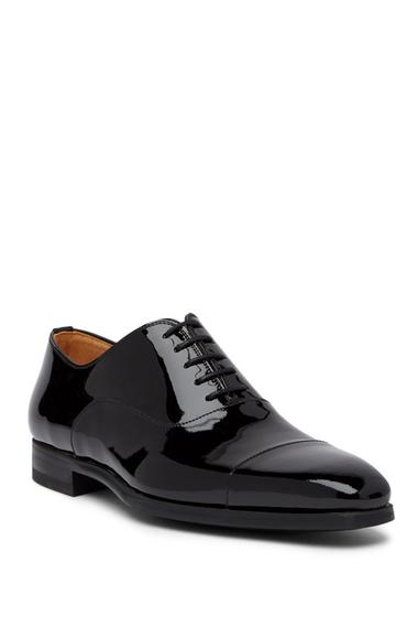 Incaltaminte Barbati Magnanni Clint Patent Leather Dress Shoe BLACK