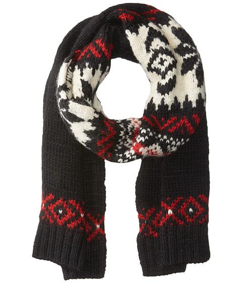Accesorii Femei Polo Ralph Lauren Wool Snowflake Scarf Black Multi