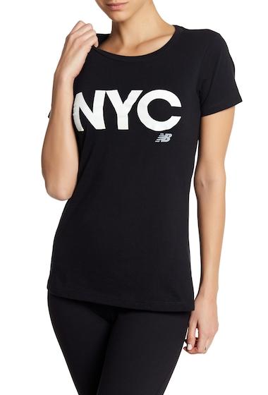 Imbracaminte Femei New Balance Short Sleeve NYC Tee BLACK