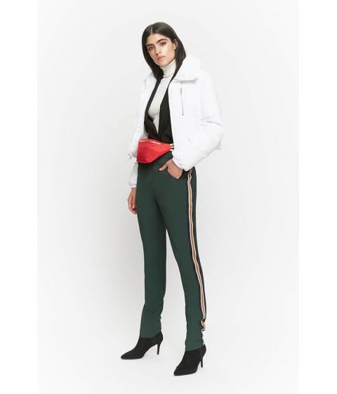 Imbracaminte Femei Forever21 Zip-Up Padded Jacket WHITE