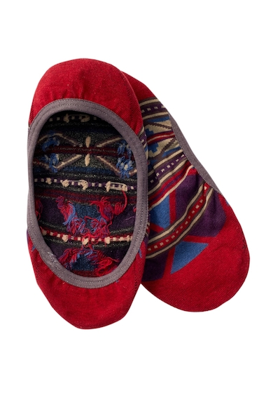 Accesorii Femei Pendleton Rio Canyon Liner Socks RED