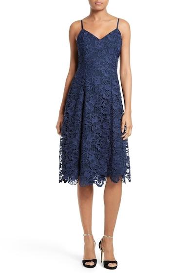Imbracaminte Femei Alice Olivia Naomi Spaghetti Strap Lace Dress SAPPHIRE