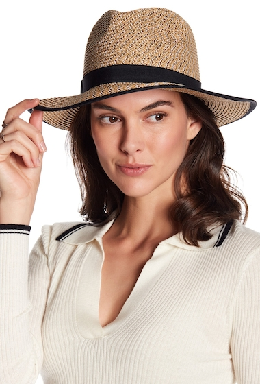 Accesorii Femei August Hats Gold Rush Fedora NAT MXGLD