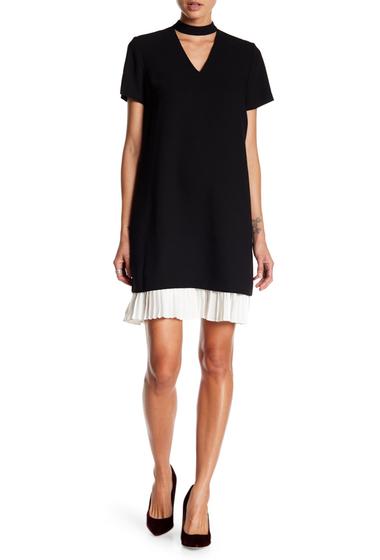 Imbracaminte Femei NANETTE nanette lepore Choker Neck Shift Dress BLK CREAM