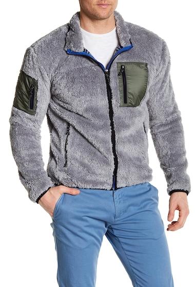 Imbracaminte Barbati Hawke Co Front Zip Fleece Contrast Jacket GREY