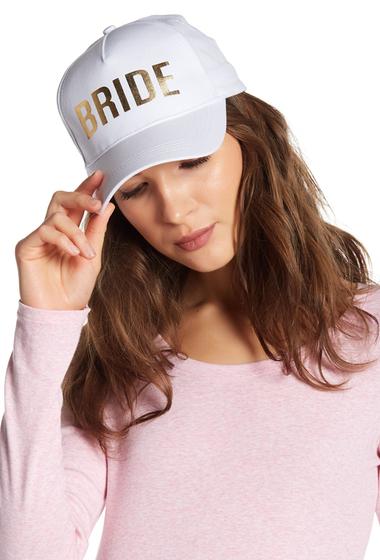 Accesorii Femei Betsey Johnson Bride Baseball Hat WHITE