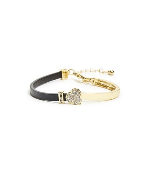 Bijuterii Femei GUESS Pave Heart Combo Bracelet black