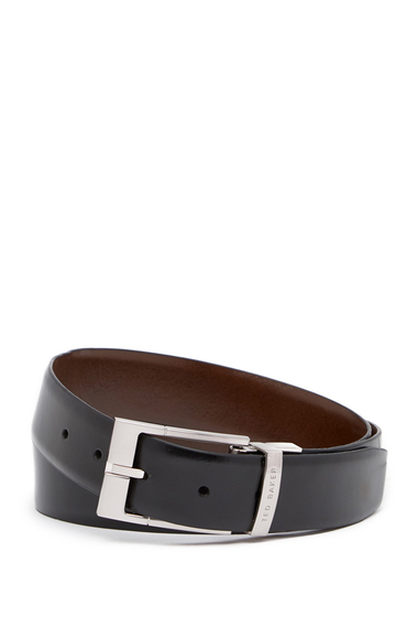 Accesorii Barbati Ted Baker London Connary Reversible Leather Belt BLACKBROWN