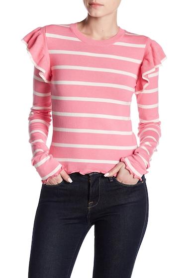 Imbracaminte Femei Abound Ruffle Shoulder Sweater PINK Z JULIE ST