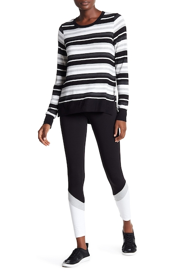 Imbracaminte Femei Marc New York Colorblock Leggings BLK WHT