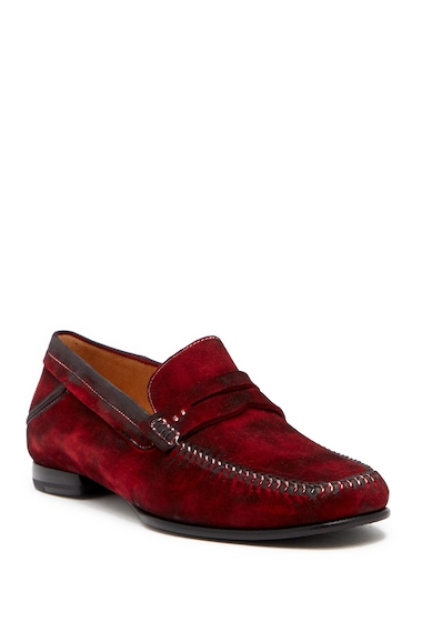 Incaltaminte Barbati Mezlan Horner Penny Loafer RED