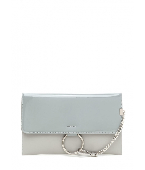 Accesorii Femei CheapChic Ring It Up Chained Rectangle Clutch Grey