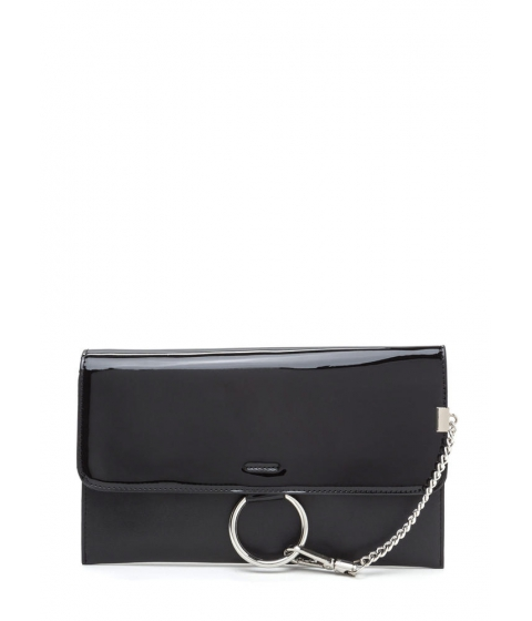 Accesorii Femei CheapChic Ring It Up Chained Rectangle Clutch Black