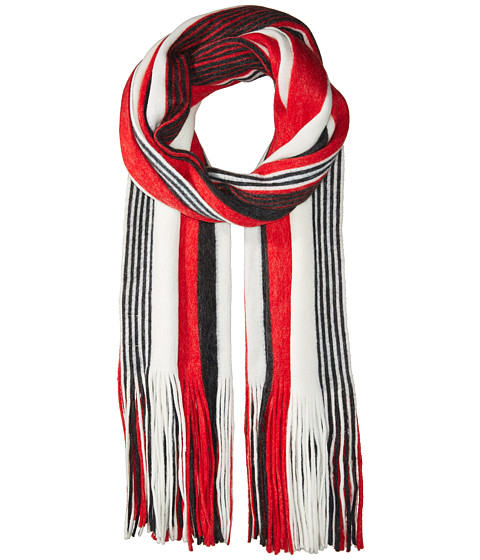 Accesorii Femei Liebeskind Kolby Striped Fringe Scarf Red